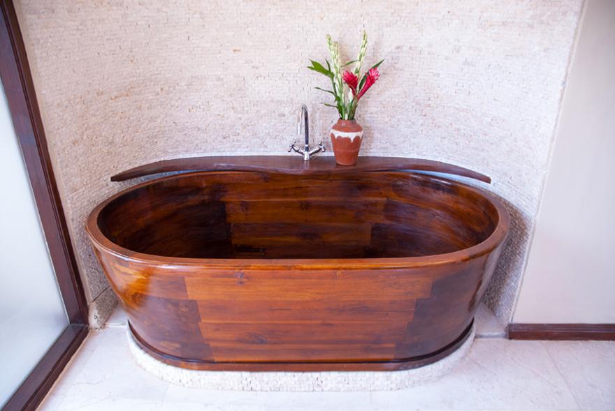 Contemporary Teak Bathtub Pictures - Luxurious Bathtub Ideas and ...